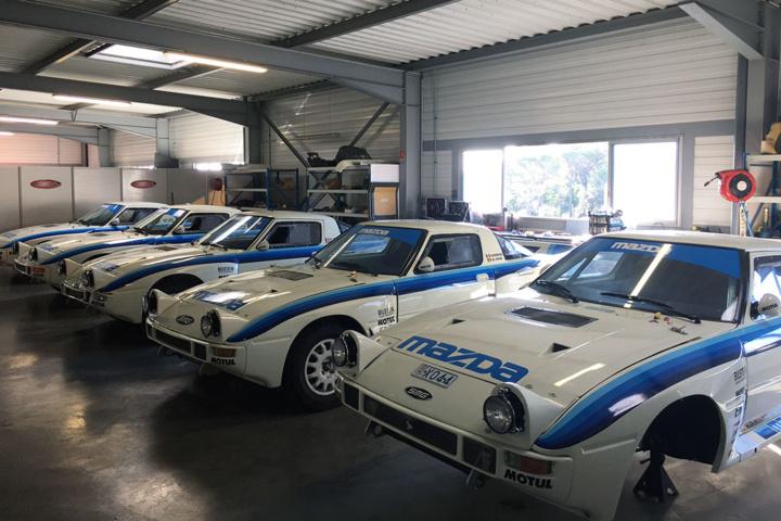 Une société au service d'une passion : la course automobile