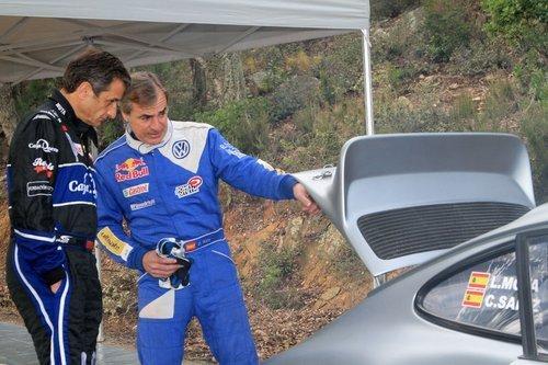 Quand Sainz remonte le temps sur une Porsche varoise