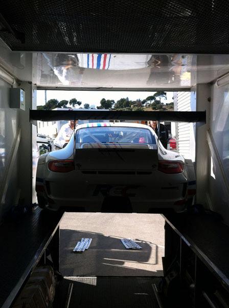 La GT3 en tests au Castellet