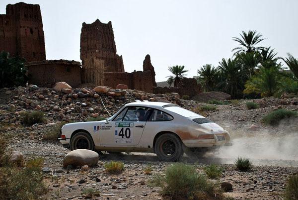 Sur le podium du Maroc Historique