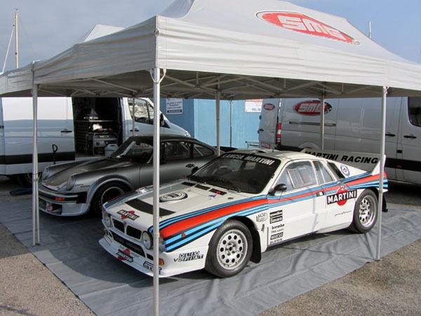 3 voitures au Tour de Corse Historique