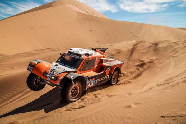 Etape 4 : enfin les dunes !