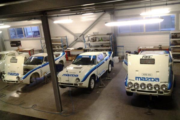 Quatre Mazda au Maroc Historique !