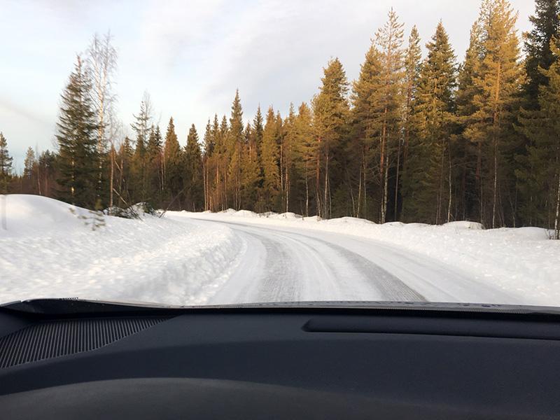 En route pour l'Arctic Lapland Rally !
