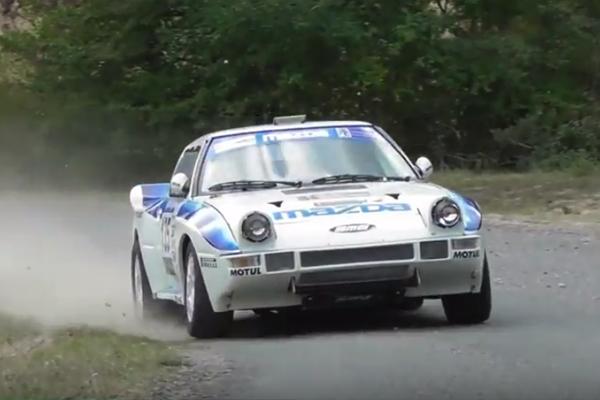 La Mazda triomphe à Fayence
