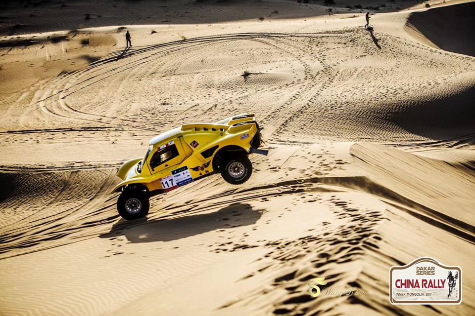 Dakar Series : le buggy SMG brille en Chine !