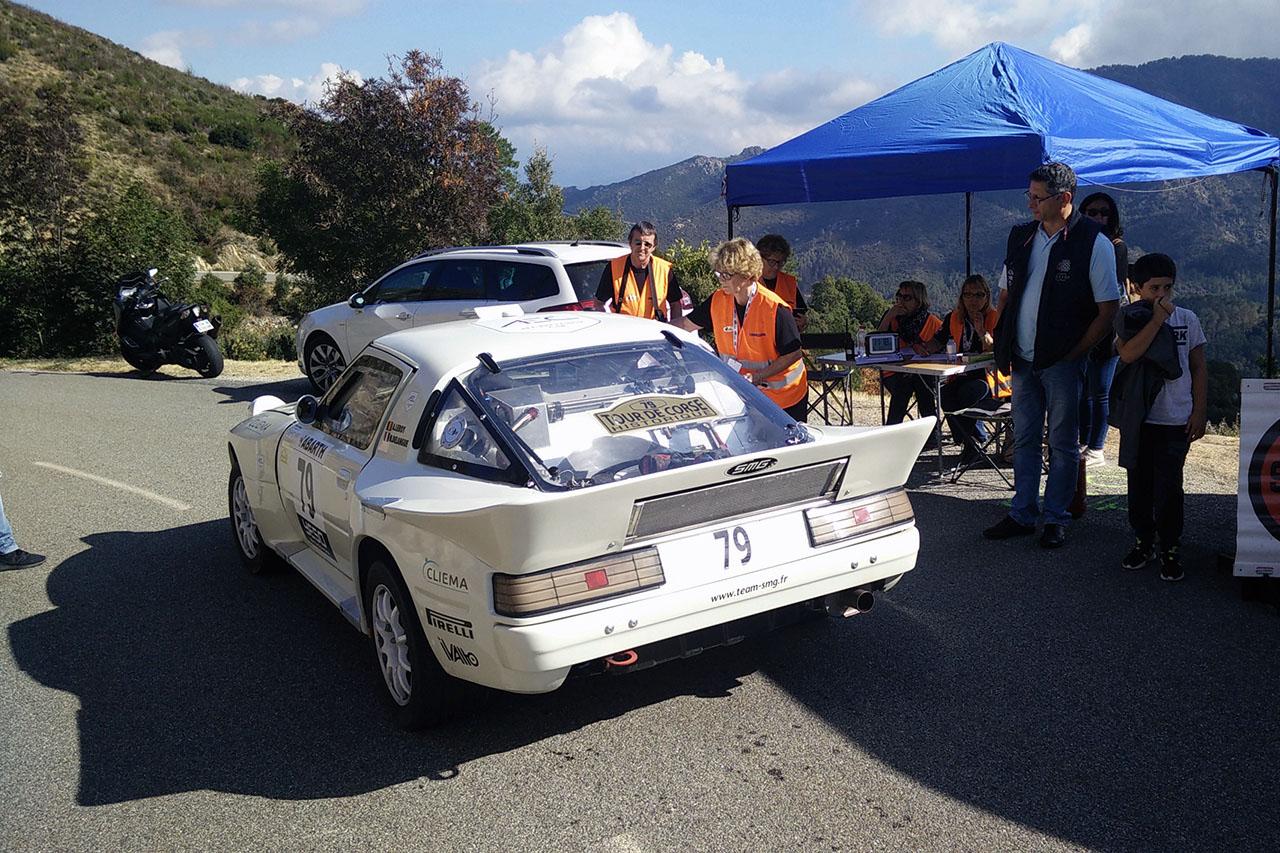 Tour de Corse : les RX-7 aux avant-postes