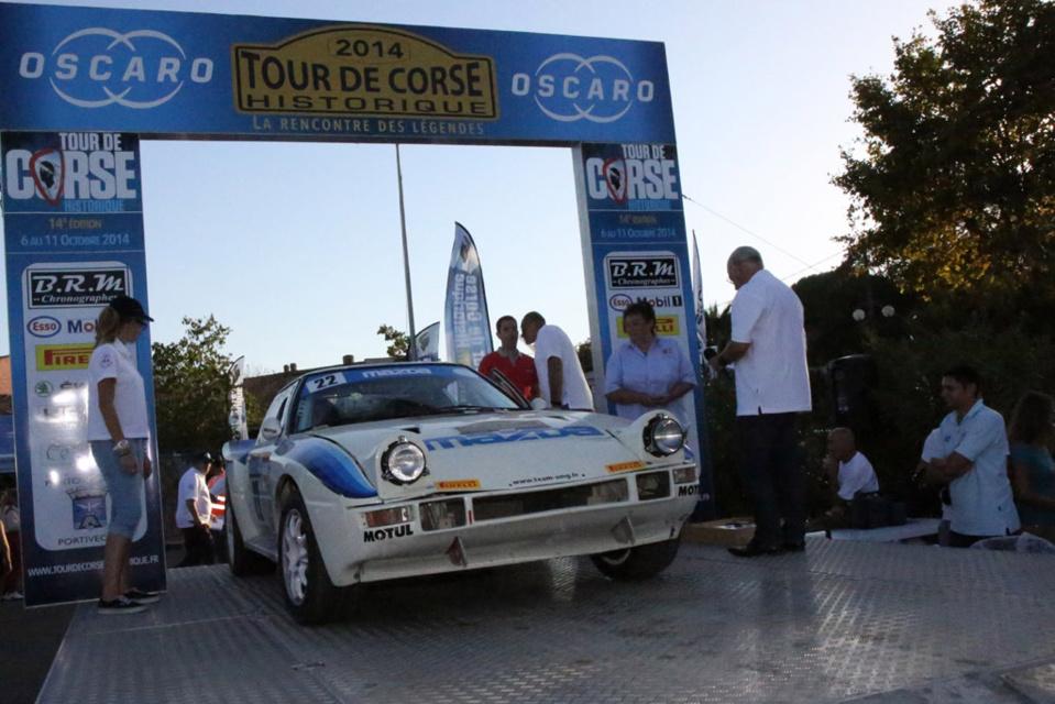 Tour de Corse : les 4 autos à l'arrivée !