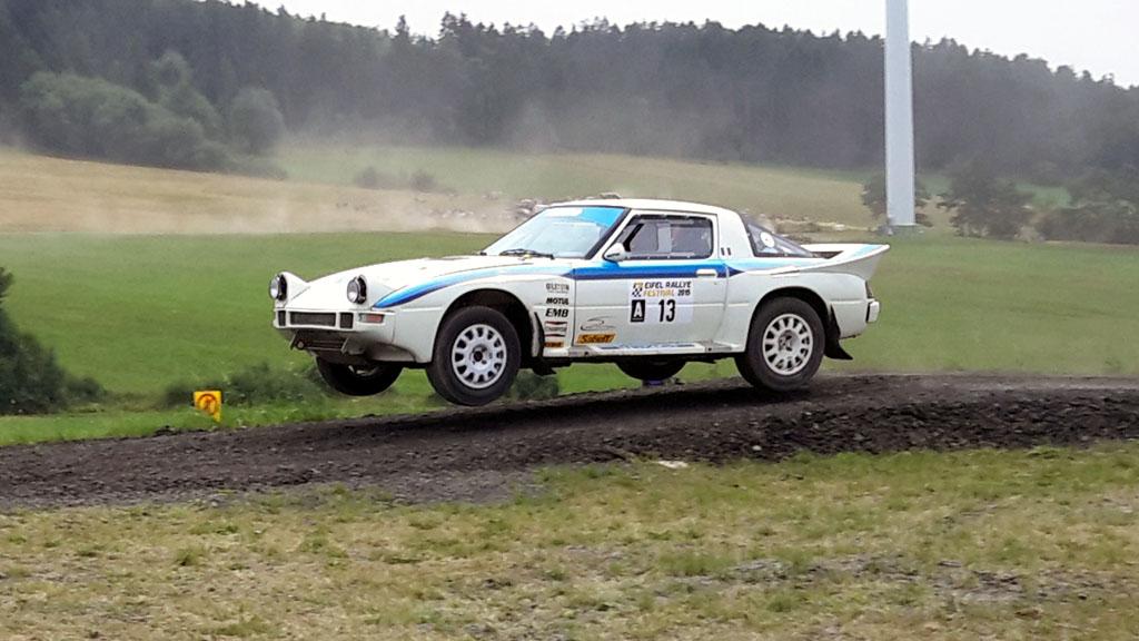 La Mazda à l'Eifel Rallye Festival