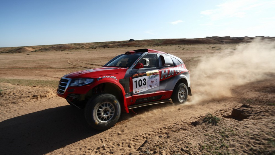 En route pour le China Silk Road Rally 2015