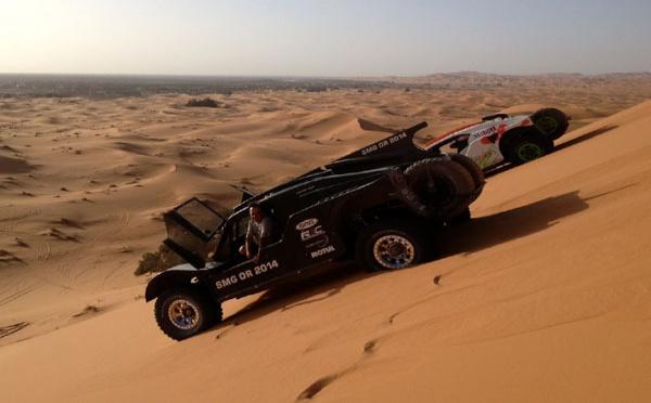 En route pour le Silk Way Rally