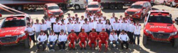 En tête du Taklimakan Rally 2015