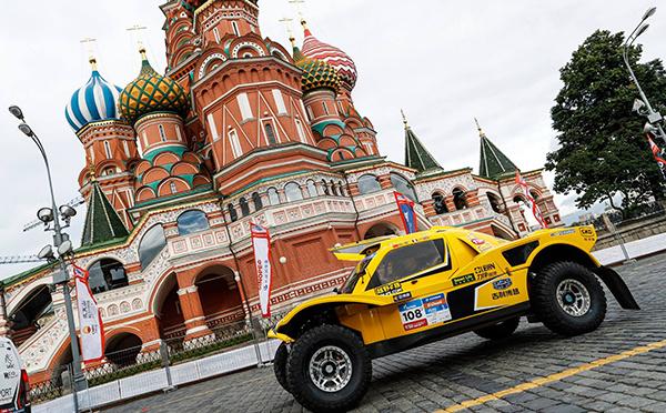 Top départ du Silk Way Rally 2016 !