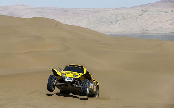 """Belle """"perf"""" dans le désert de Gobi"""