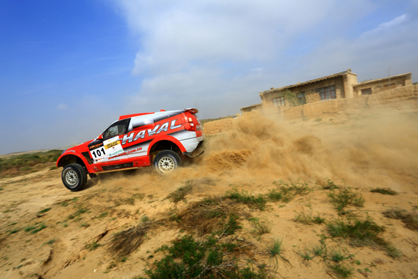 En tête du China Grand Rally