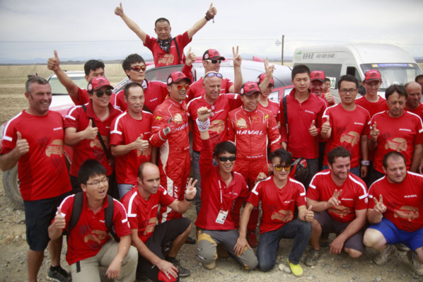 Han Wei remporte le Taklimakan Rally !