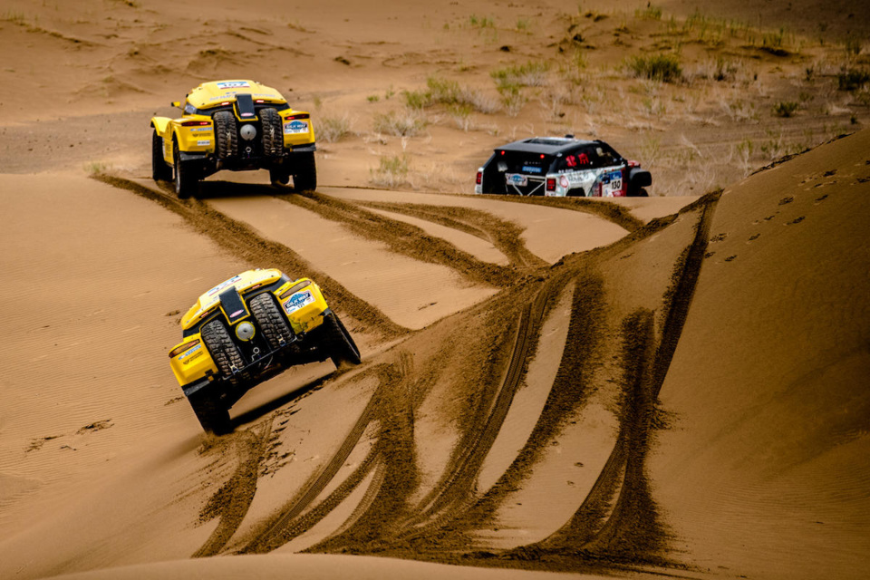Silk Way Rally 2017 : un bon cru pour SMG